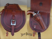 Cow Creel Pommell Bags