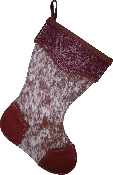 Brindle Christmas Stocking