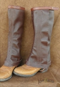 Basic Half Chaps Brown